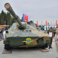 Самоходная противотанковая пушка 2С25 «Спрут-СД» :: Алексей Михалев