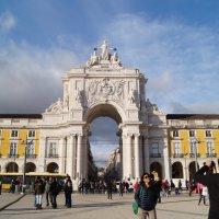 Триумфальная арка в Лиссабоне :: Natalia Harries