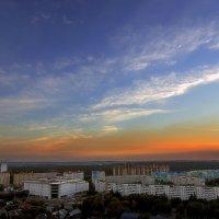 Закат над городом...2. :: Андрей Войцехов