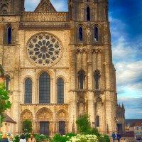 Шартрский собор (фрагмент) Франция. :: Александр Селезнев