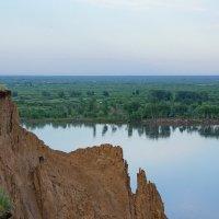 Обь-река. Обрыв :: Виктор Четошников