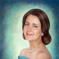 Дама в голубом :: Ирина Kачевская
