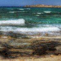 Темное мелководье и белые стремительные волны :: Ирина Сивовол