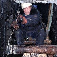 не всегда работа в чистоте..... :: Андрей Кулешов