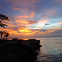 Закат Солнца.Юго-восточное море.Таиланд,провинция Районг :: Ivan G