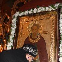Икона св.Сергия Радонежского :: Наталья Золотых-Сибирская