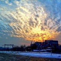 зимний закат :: Руслан Балтабаев