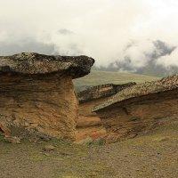 Каменные грибы Эльбруса :: Леонид Сергиенко