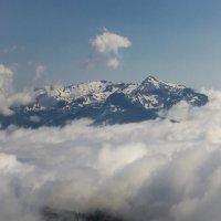 Вид с вершины Роза Пик... :: Сергей Сердечный