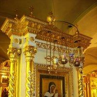 Список с чудотворной Коневской иконы Божией Матери :: Елена Павлова (Смолова)