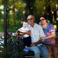 Семейный портрет :: Валерия Стригунова