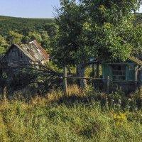 Стоят заброшенные хаты на тихих улочках села... :: Юлия Бабитко