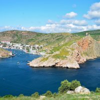 Синие бухты Балаклавы :: Ольга Голубева