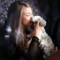 Анна и Живанши... :: Татьяна Полянская