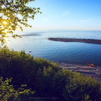 Устье реки Выдринная в Байкал :: Алексей Белик