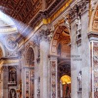 Собор Святого Петра в Риме :: Вячеслав Лопатин