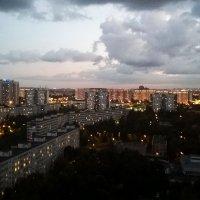 Город накрывает ночь... :: Николай Дони