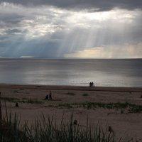 Северодвинск. Разные дни у Белого моря. Небесный свет :: Владимир Шибинский