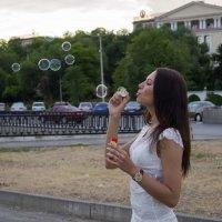 С мыльными пузырями :: Mishanya Moskovkin