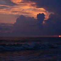 Закат на море :: Надежда Шульц