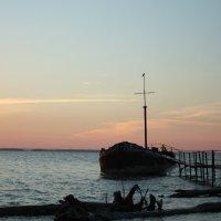 Закат на Обском море. Завьялово. :: Ольга
