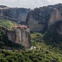 Греция. Метеоры.Один из монастырей. :: юрий макаров
