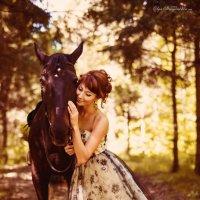 Морошка и Анна :: Olga Strogantseva