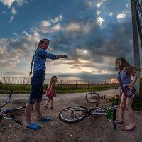 А эта дорога ведёт на закат :: Ирина Данилова