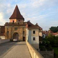 Чески-Крумлов. Мост и ворота в Замок :: Эльдар (Eldar) Байкиев (Baykiev)