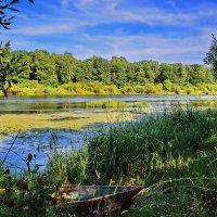 Старая  лодка.... :: Валера39 Василевский.