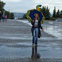 Снова за окошком дождь и я :: Владимир Максимов