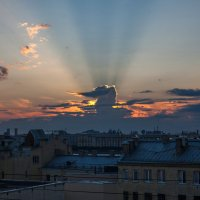 Закатные лучи :: Ivan Zaytcev