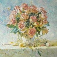 Этюд с розами :: Геннадий Тимин