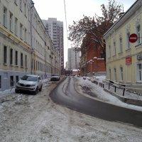 Старая Москва ул.Прямикова :: Борис Александрович Яковлев