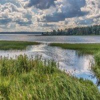 Вид на озеро Валдай :: Вячеслав Касаткин