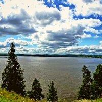 Нижне-Туринский пруд, Средний Урал :: Борис Соловьев