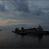 Белые ночи Шлиссельбургская крепость :: tipchik