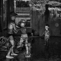 Ураган в недостроенном доме :: Оксана Коваленко