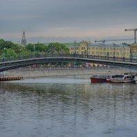 Пешеходный Третьяковский ( Лужков) мост... :: марк