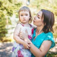 Лизонька с мамой :: Мария Дергунова