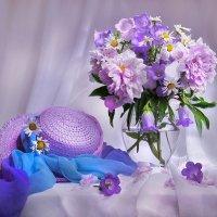 Июль раскрасил нежностью цветы... :: Валентина Колова