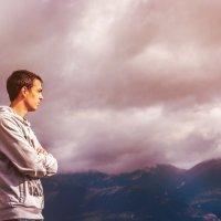 в горах своя атмосфера... :: Дарья Довгопольская