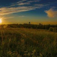 Пылающий закат :: Дмитрий Рутковский