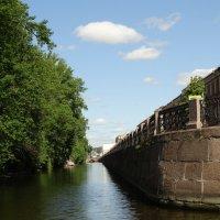 Крюков канал. Поворот (направо) на Мойку. :: Владимир Гилясев