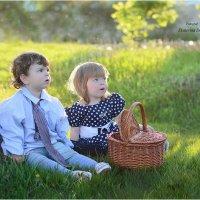 детки в поле :: Екатерина Дорофеева