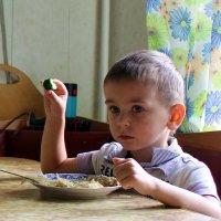 Ужин - это серьёзно! :: Ирина Пластинина
