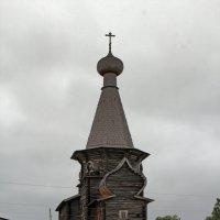 Русский Север. Село Нёнакса. Никольская церковь (1763 г.) :: Владимир Шибинский