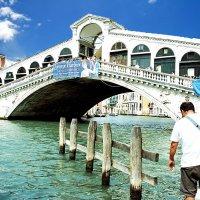 Мост Риальто(Венеция) :: Евгений Дубинский