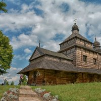 деревянная церковь :: Ю Р