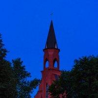 Костел в ночи :: Tatsiana Latushko